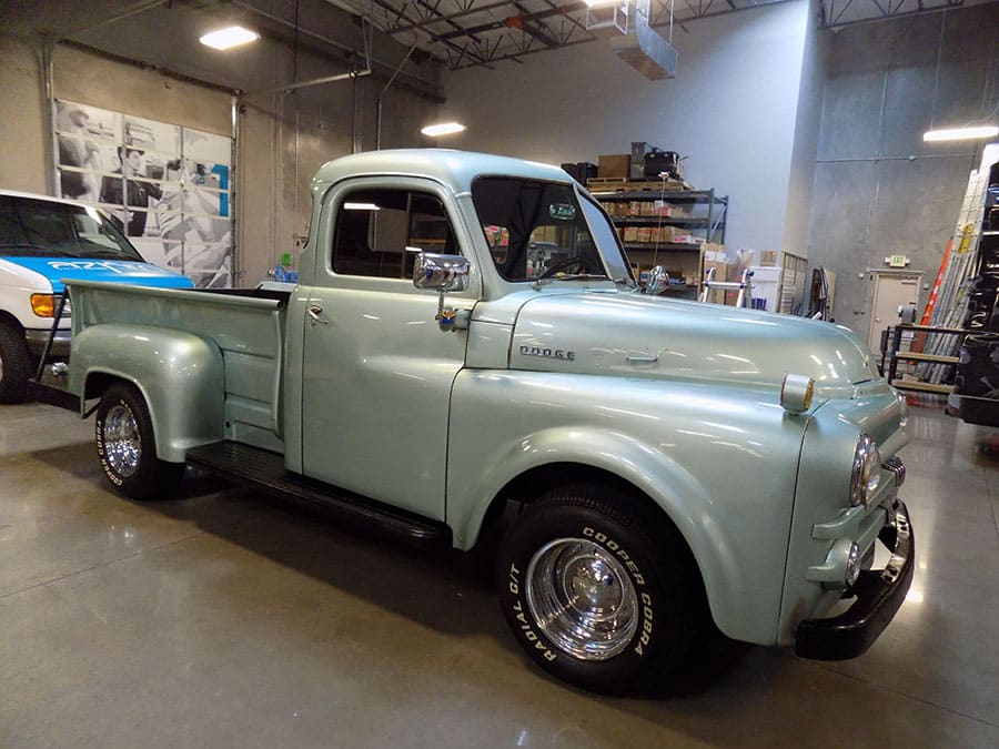 Classic 1953 Chevy Truck Before