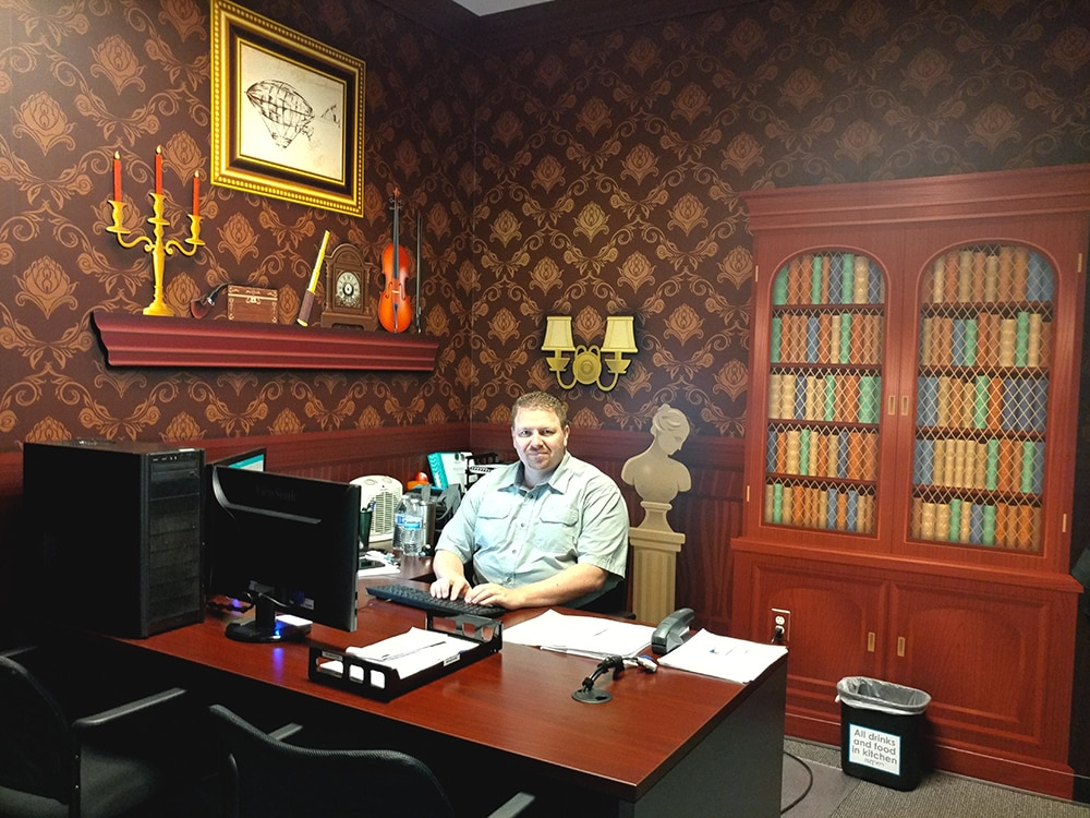 Keith Costello's Office