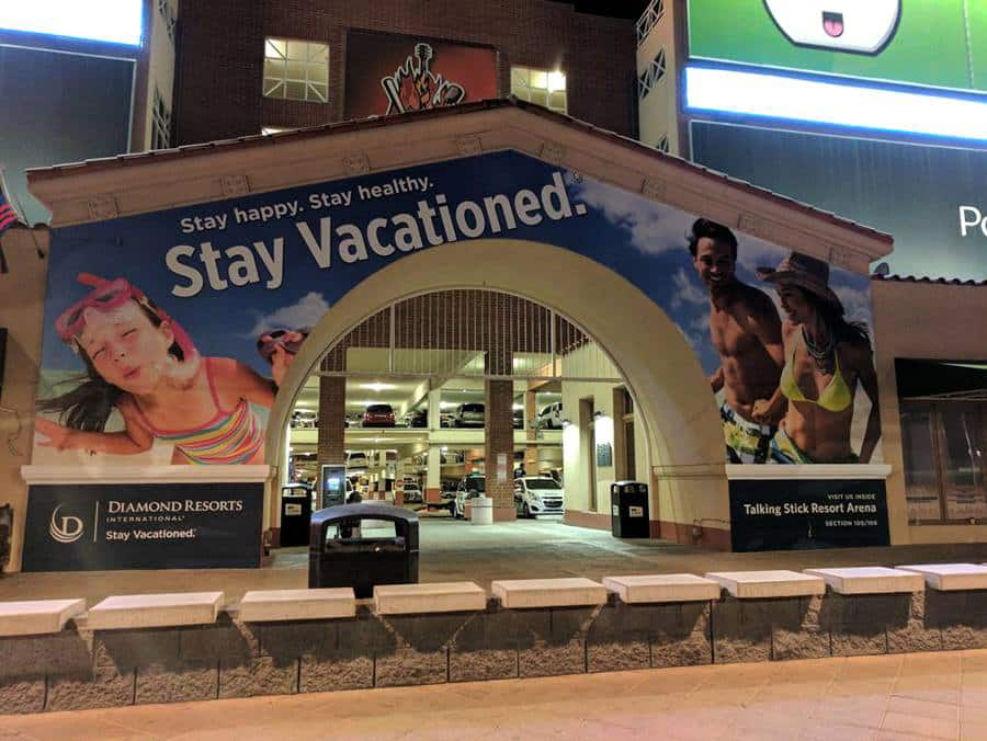 Commercial Outdoor Banners - Diamond Resorts