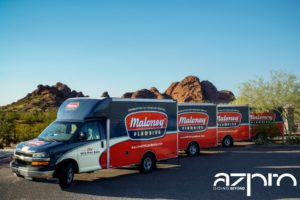 maloney plumbing fleet wrap