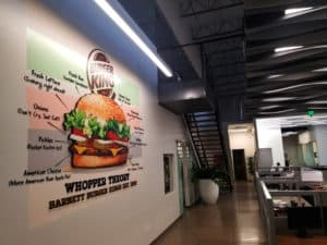 custom corporate wall decals