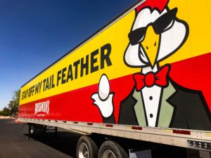 hickmans family farms truck trailer wrap