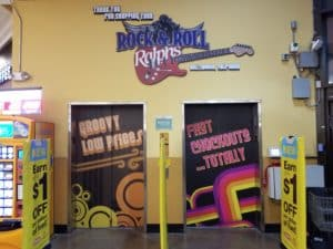 Ralphs Retail Graphics - elevators