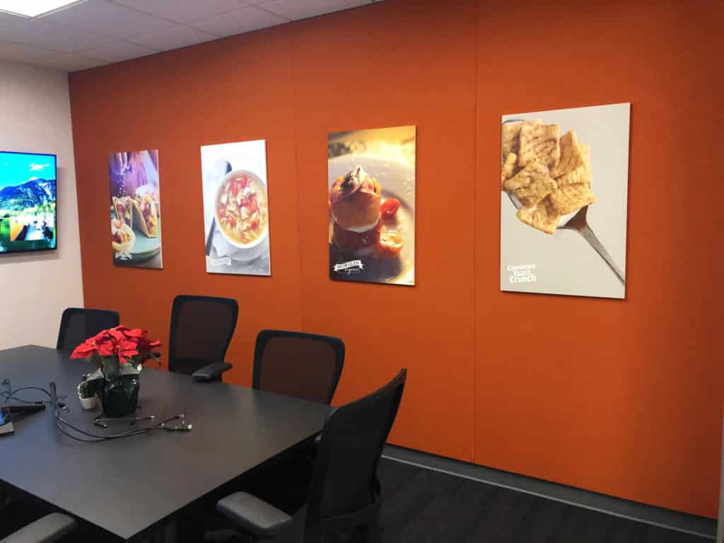 General Mills corporate decor graphics
