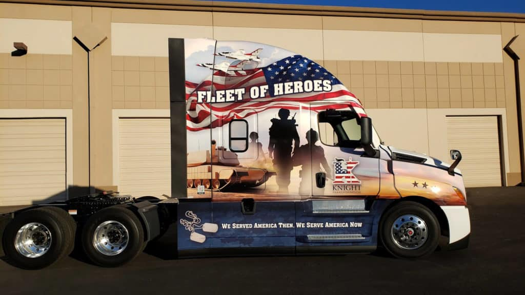 Knight Fleet & vehicle wrap