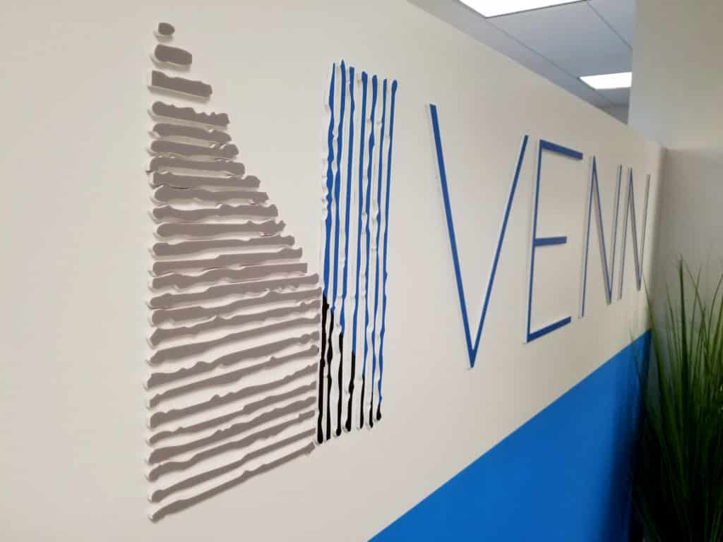 Venn corporate decor branding