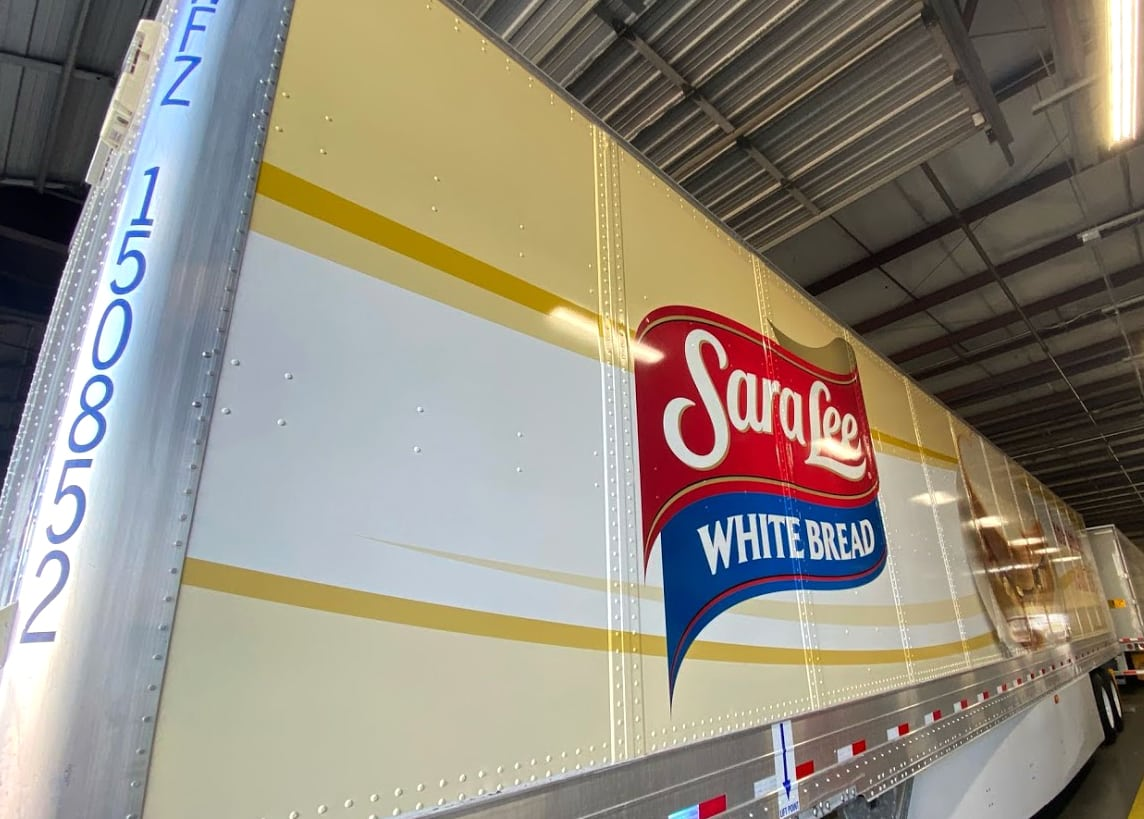 Sara Lee Fleet Wraps